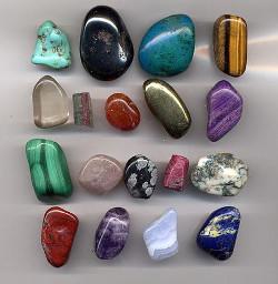 pierres utilisés en lithothérapie