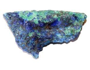 Azurite Malachite brute