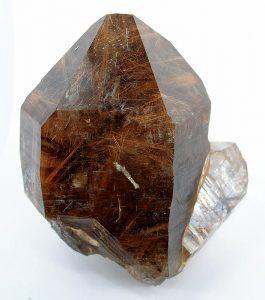 Cristal de quartz rutile