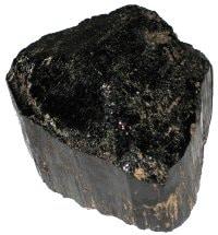tourmaline noire cristal brut